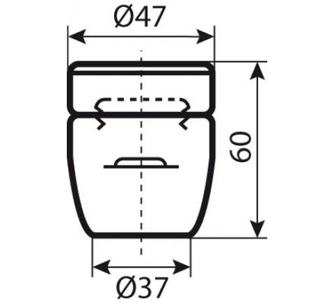 Douille céramique spéciale four E27