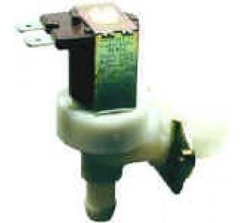 Électrovanne 3/4 coudée corps plastique 1 voie 90° 220 V