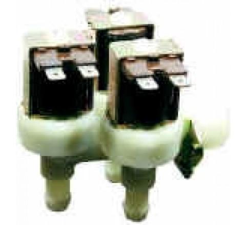 Électrovanne 3/4 coudée corps plastique 3 voies 90° 220 V