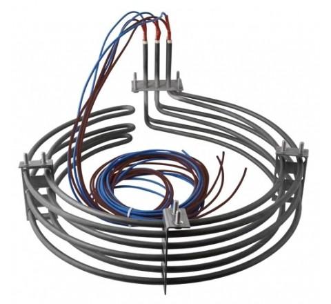 Résistance circulaire  8000 W pour four ventilé adaptable BONGARD