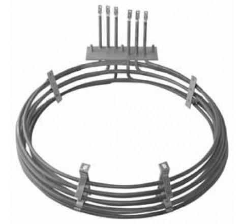Résistance circulaire 9000 W pour four ventilé adaptable PAVAILLER TOPAZE
